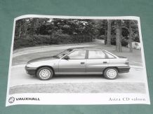 "VAUXHALL Astra CD Saloon (K-reg)   factory issued 8x6"" press photo"